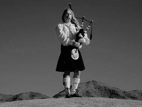 Michael McClanathan the bagpiper